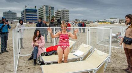 432x240 dsc 9317 Riccione su Rai Uno con Linea Verde Life la troupe sulla spiaggia per le riprese