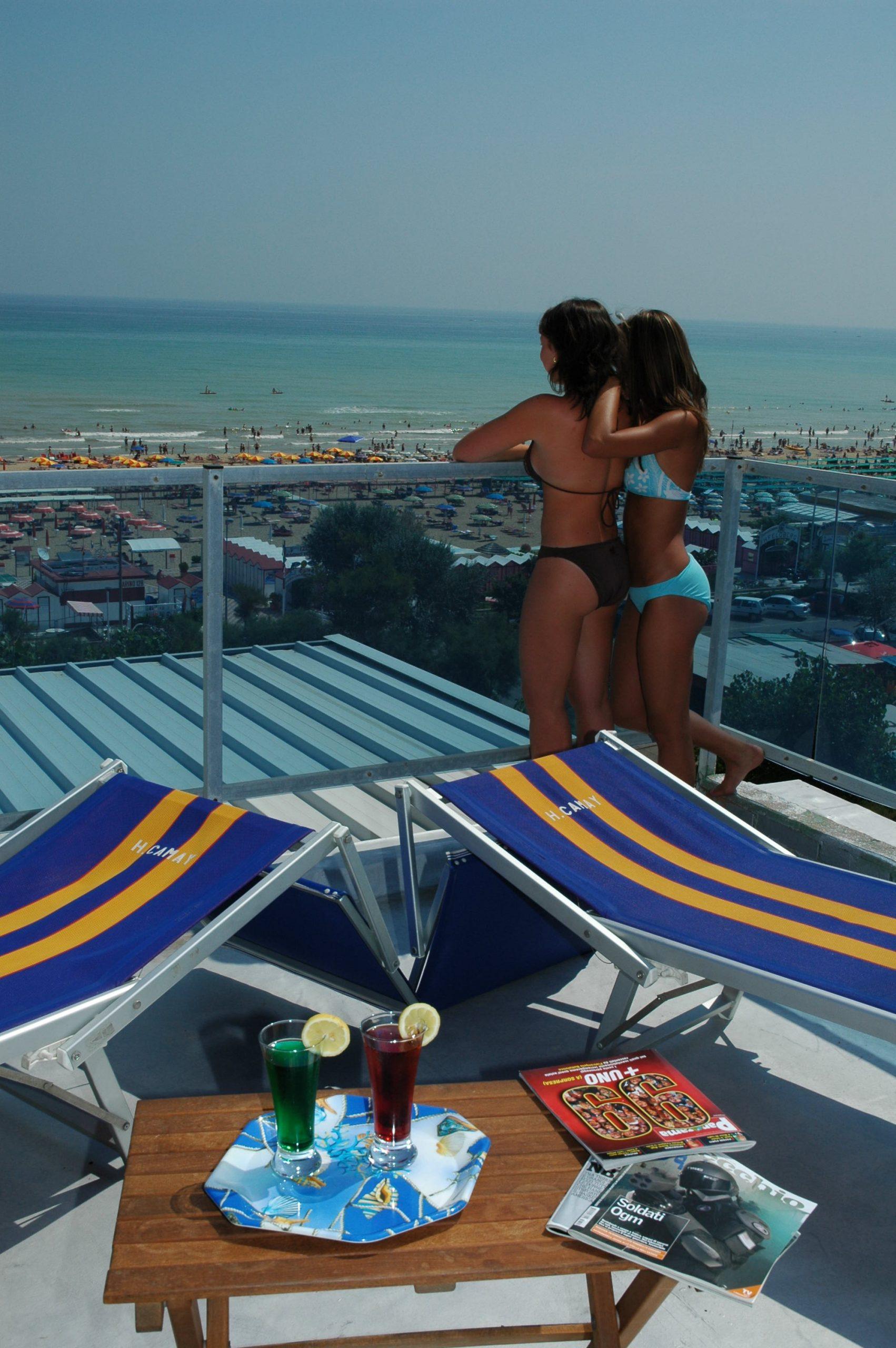 Albergo Riccione Hotel camay Esterno