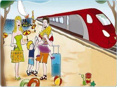 Riccione offerta al mare in treno Riccione Ilary Blasi costume super sexy l 8217 estate iniziata Video privato