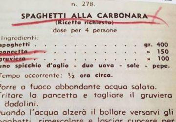 La carbonara delle origini? Con aglio e gruviera. La vera storia della ricetta (che spiazza i romani)