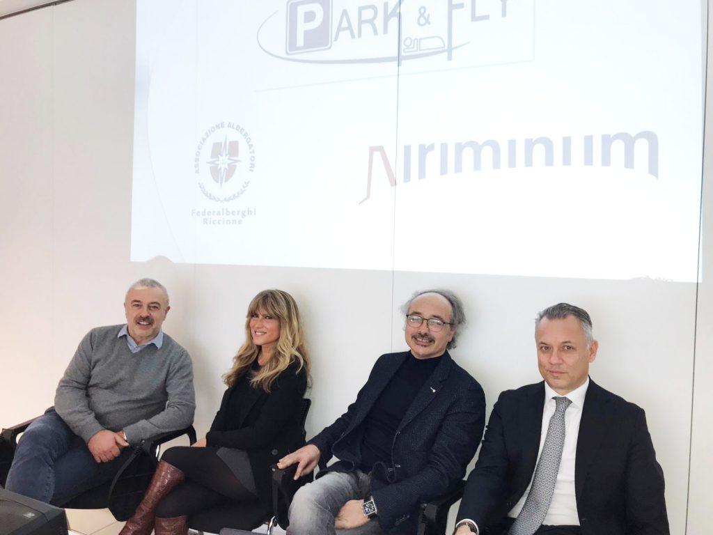PARKFLY 2401 1024x768 1 Riccione Federalberghi presentato Park 038 Fly Nuovo servizio per i passeggeri del Fellini 8211 Chiamamicitta