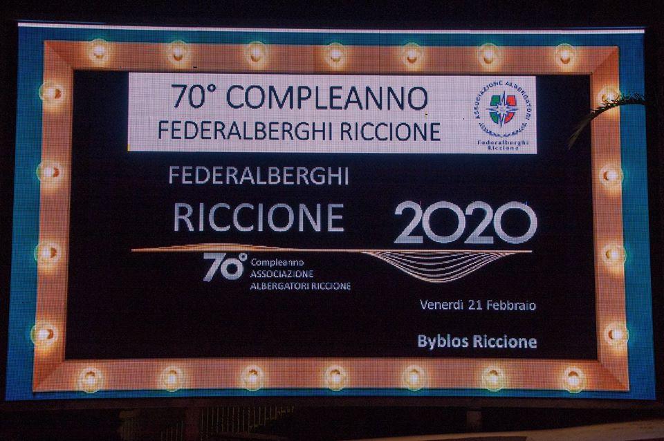 Federalberghi 70 Federalberghi Riccione 70esimo Compleanno