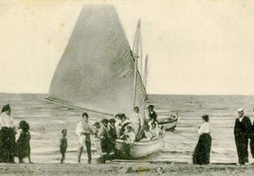 Vele vecchie 360x250 Riccione Cenni storici nascita dei bagni marittimi