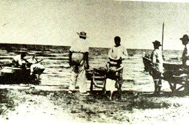 Riccione pescatori vecchi Riccione Lavori in Preparazione estate 2021