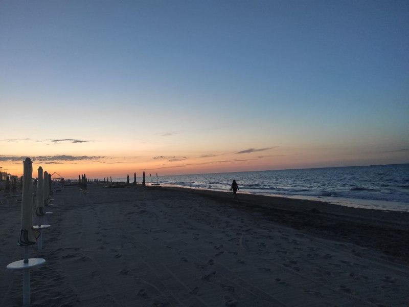 Colori tramonto mare 2 Riccione Come Eravamo 8230 L 8217 evoluzione della Specie